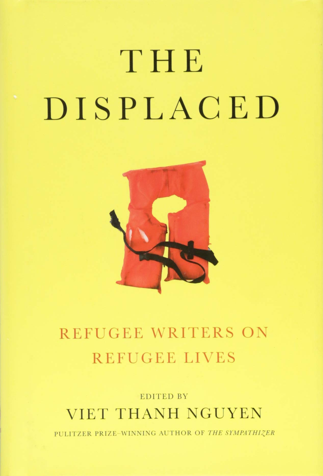 The cover of the book The Displaced