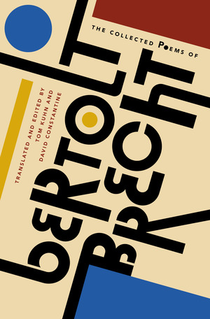 The cover of the book The Collected Poems of Bertolt Brecht