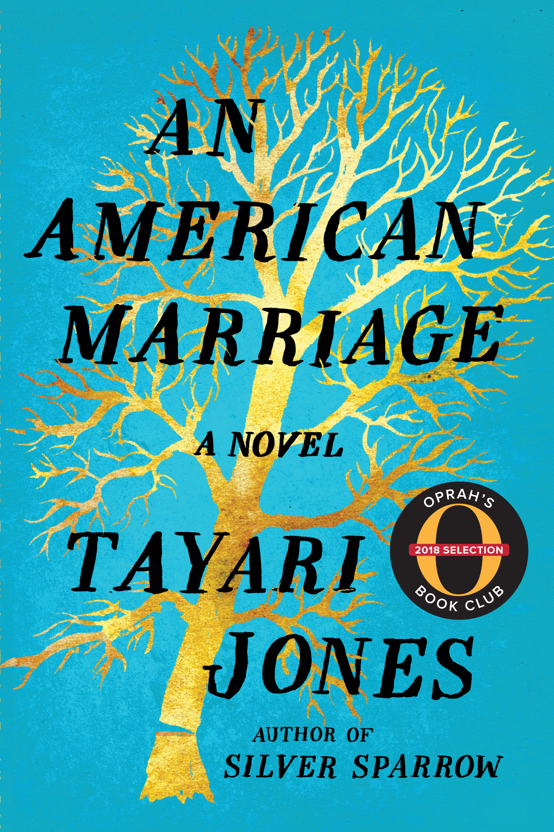 The cover of the book An American Marriage