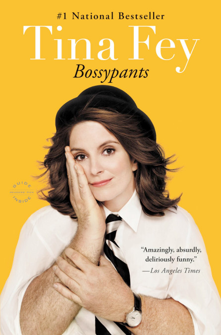 The cover of the book Bossypants
