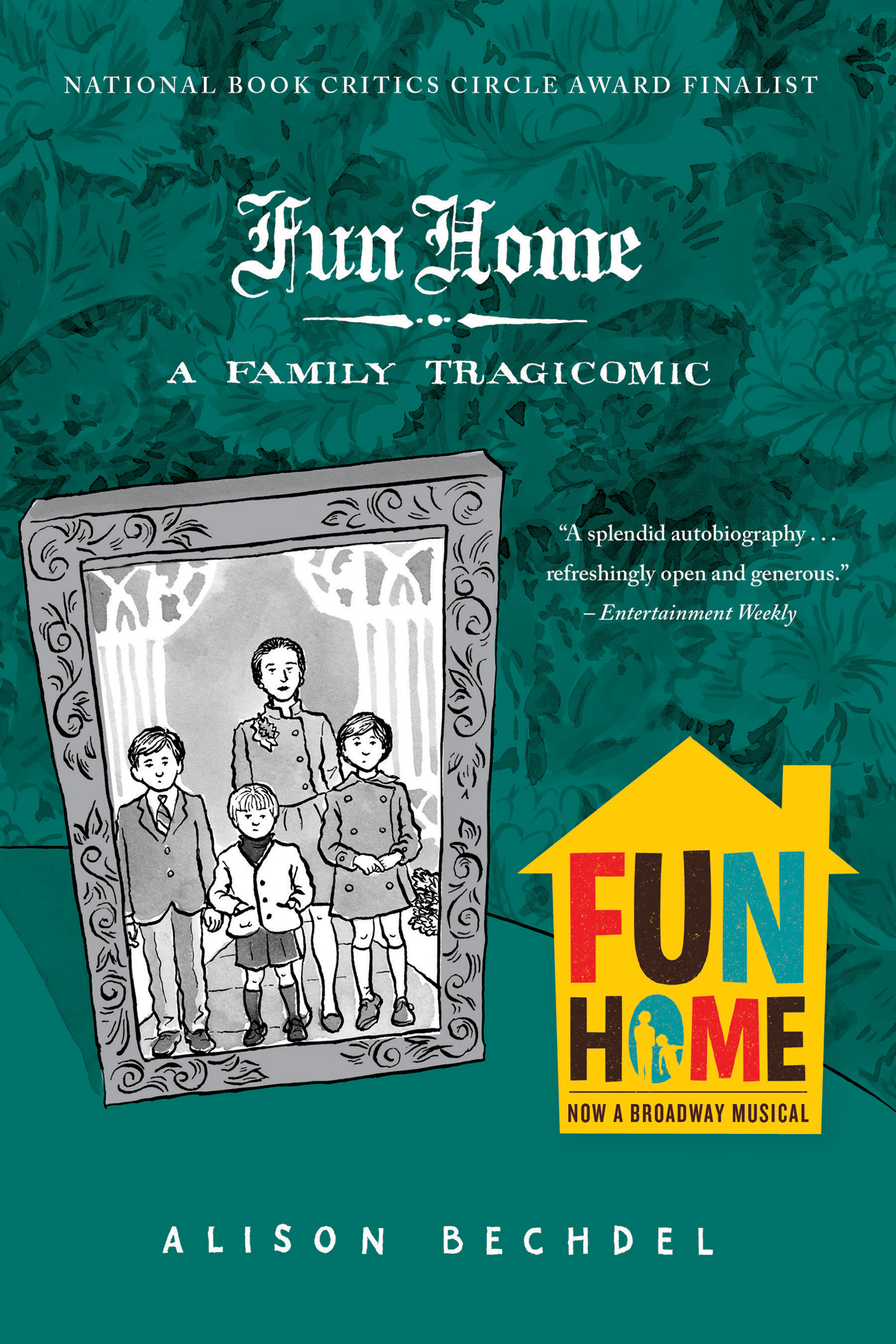The cover of the book Fun Home