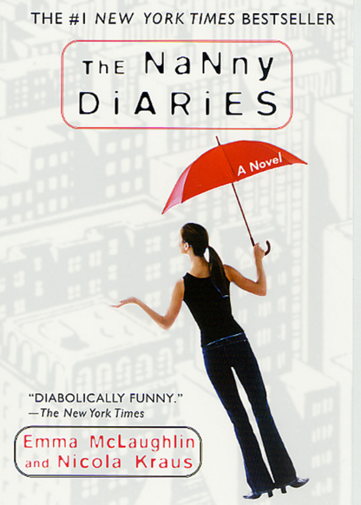 The cover of the book The Nanny Diaries