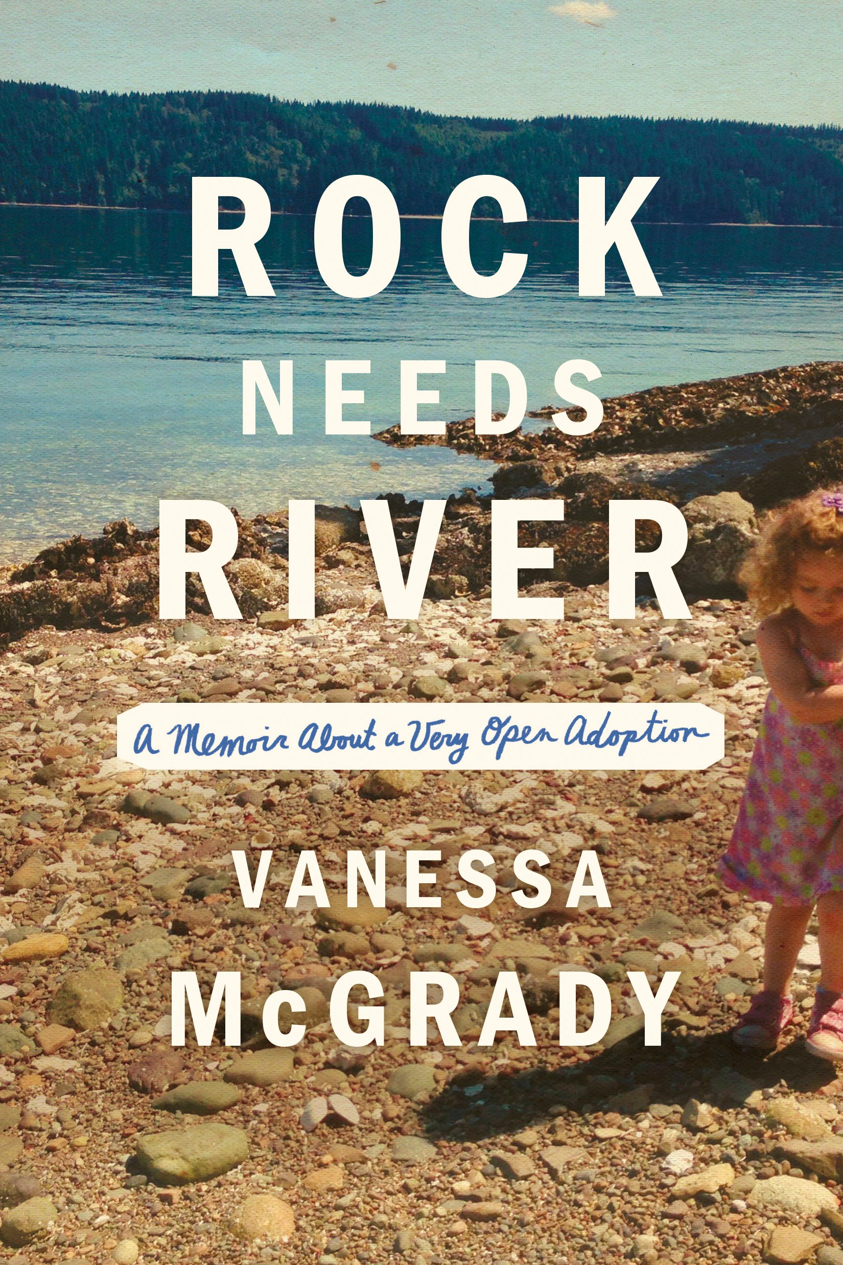The cover of the book Rock Needs River: A Memoir About a Very Open Adoption