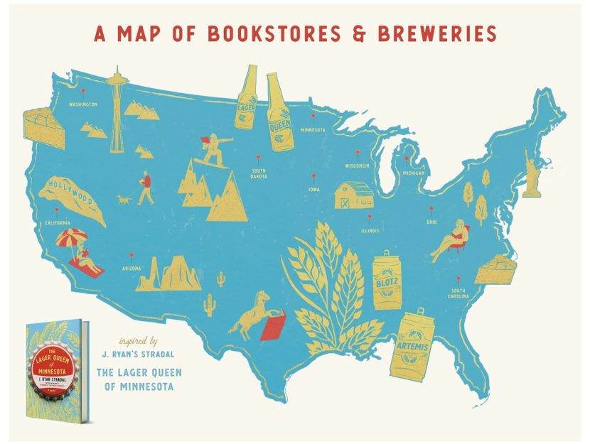 Bookstores and Breweries to Visit in US