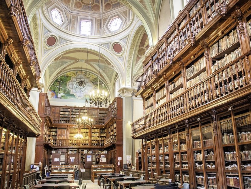 Books Set in Libraries